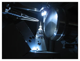 A picture of a diffractometer