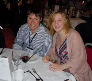 Callum and Emma at Dinner
