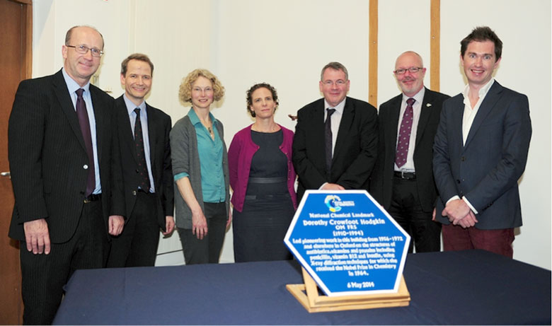 Professor Tim Softley, Professor Philip Mountford, Ms Georgina Ferry, Professor Susan Lea, Professor Paul Raithby, Dr Robert Parker, and Professor Andrew Goodwin
