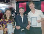 BCA Poster Prizes for Laura and James